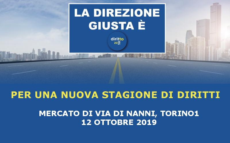 Mercato di via Di Nanni a Torino – 12 ottobre 2019